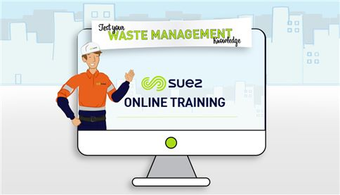 Image of SUEZ customer education animation character