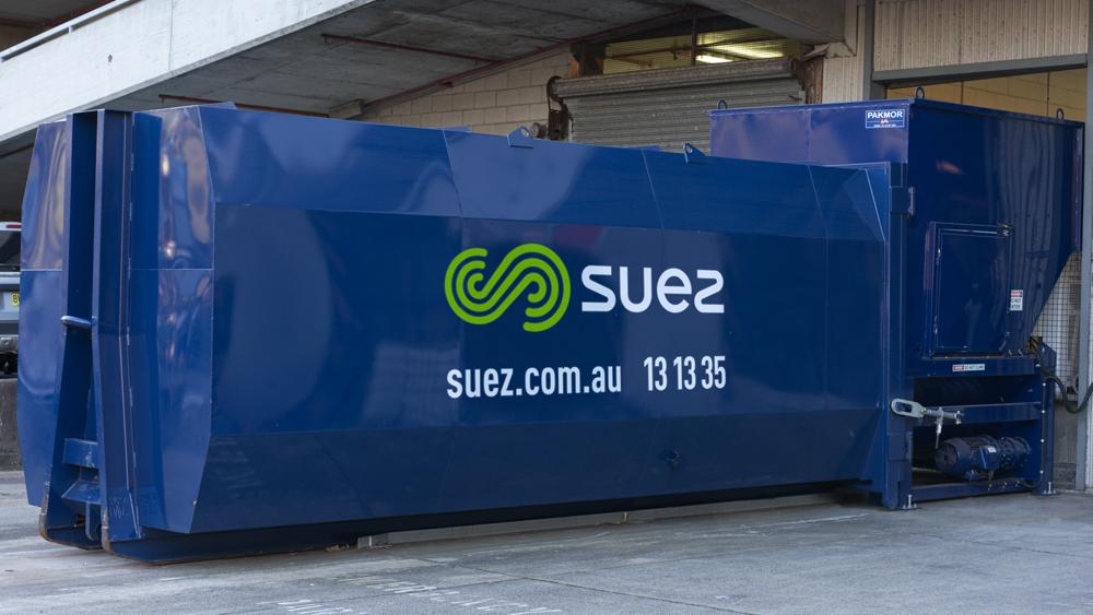 SUEZ's compactor systems