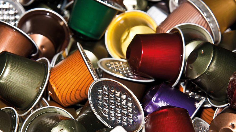 Coffee capsules ready for depackaging
