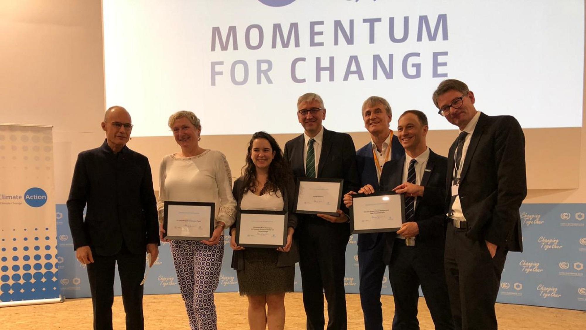 SUEZ Noticia COP24 Momentum for Change premio Naciones unidas header