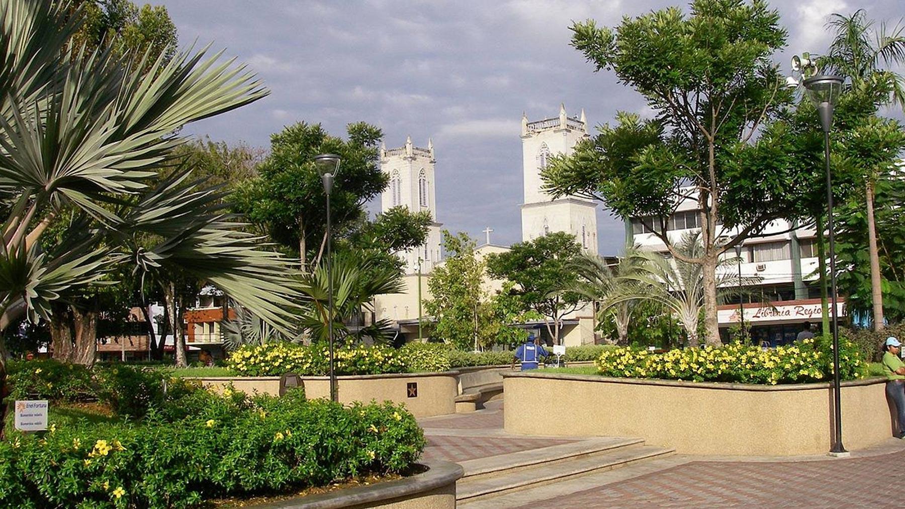 Imagem da Cidade de David, no Panamá