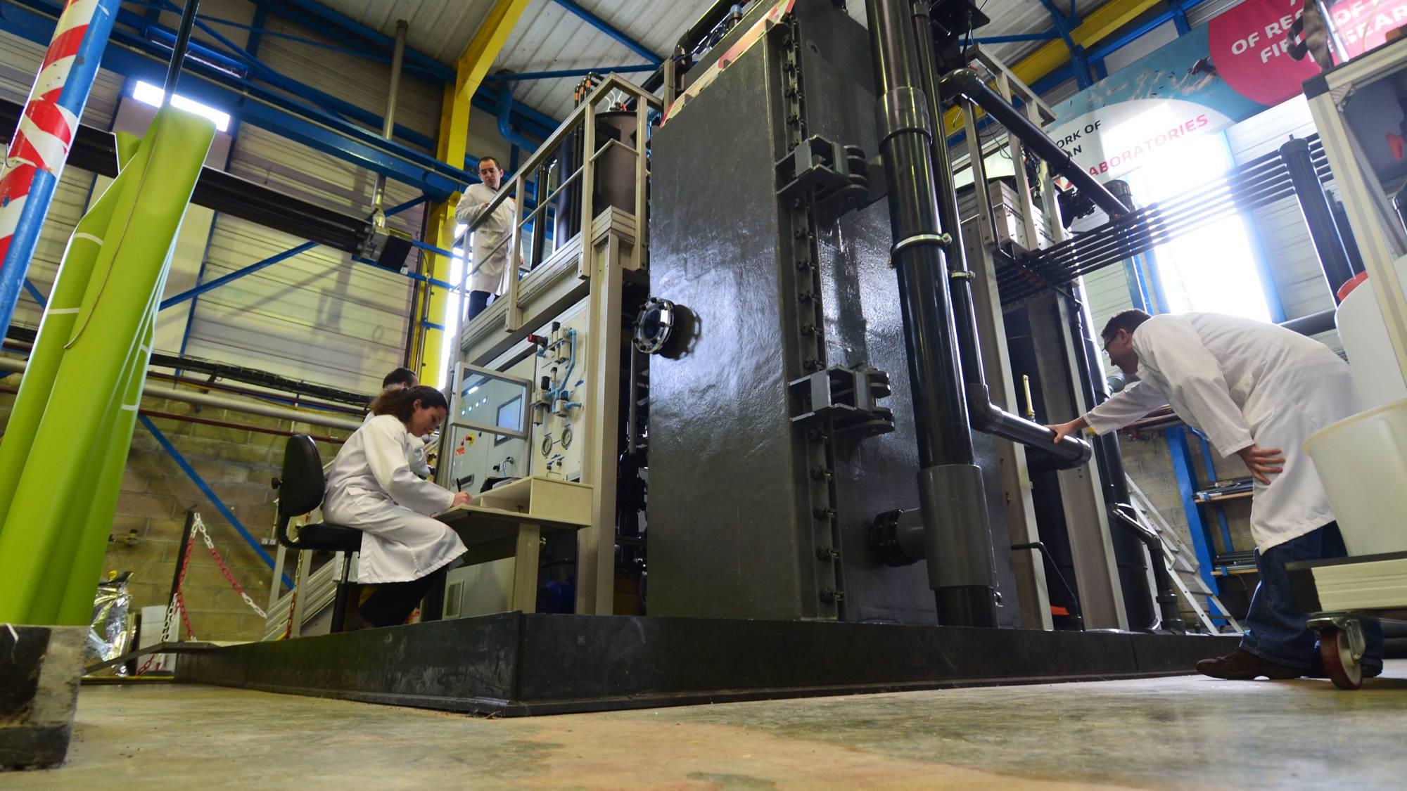Suez technological tests