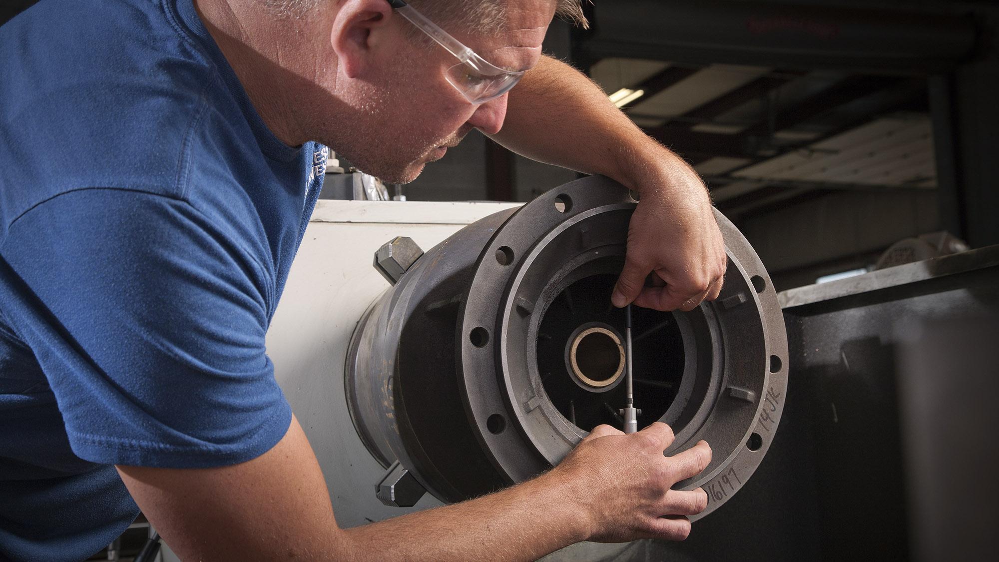 Pumps maintenance and services