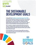 SUEZ Community Grants Sustainable Development Goals