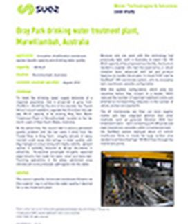 Bray Park drinking water treatment plant