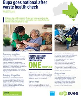 Bupa Goes National After Waste Health Check: Healthcare
