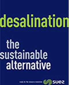 Desalination the sustainable alternative