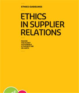 SUEZ Ethics in Supplier Relations