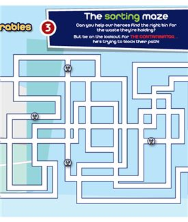 The recycling maze