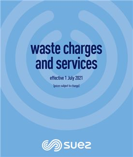 NSW Waste Charges and Services booklet