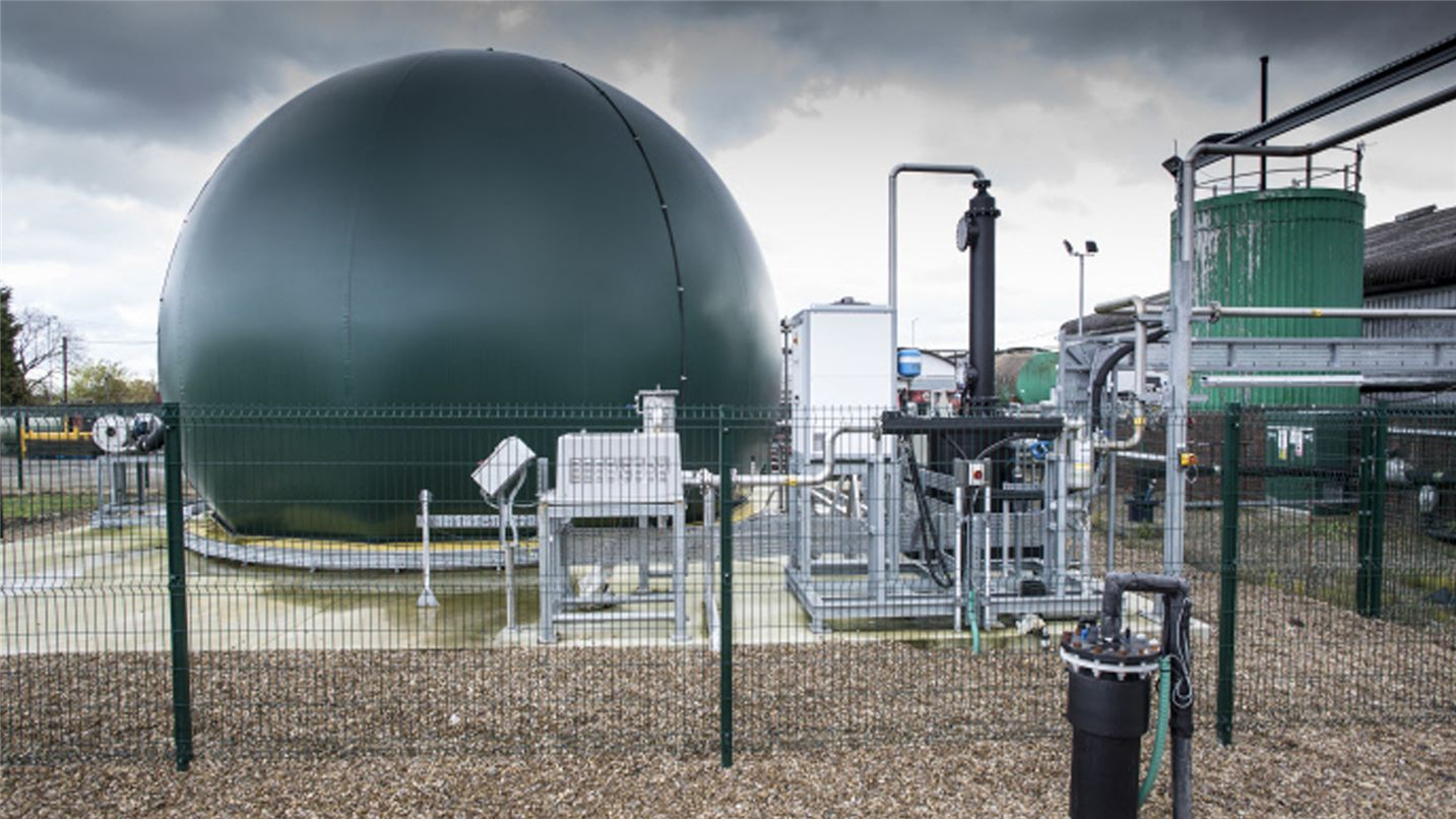 SUEZ biosolids management and by products recovery header image. Image of SUEZ biosolids plant.