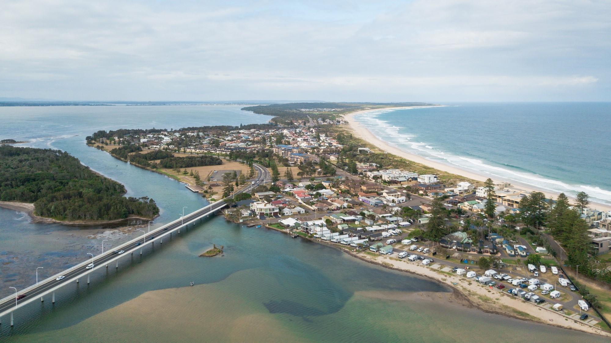 SUEZ header landing page NSW regional ads central coast