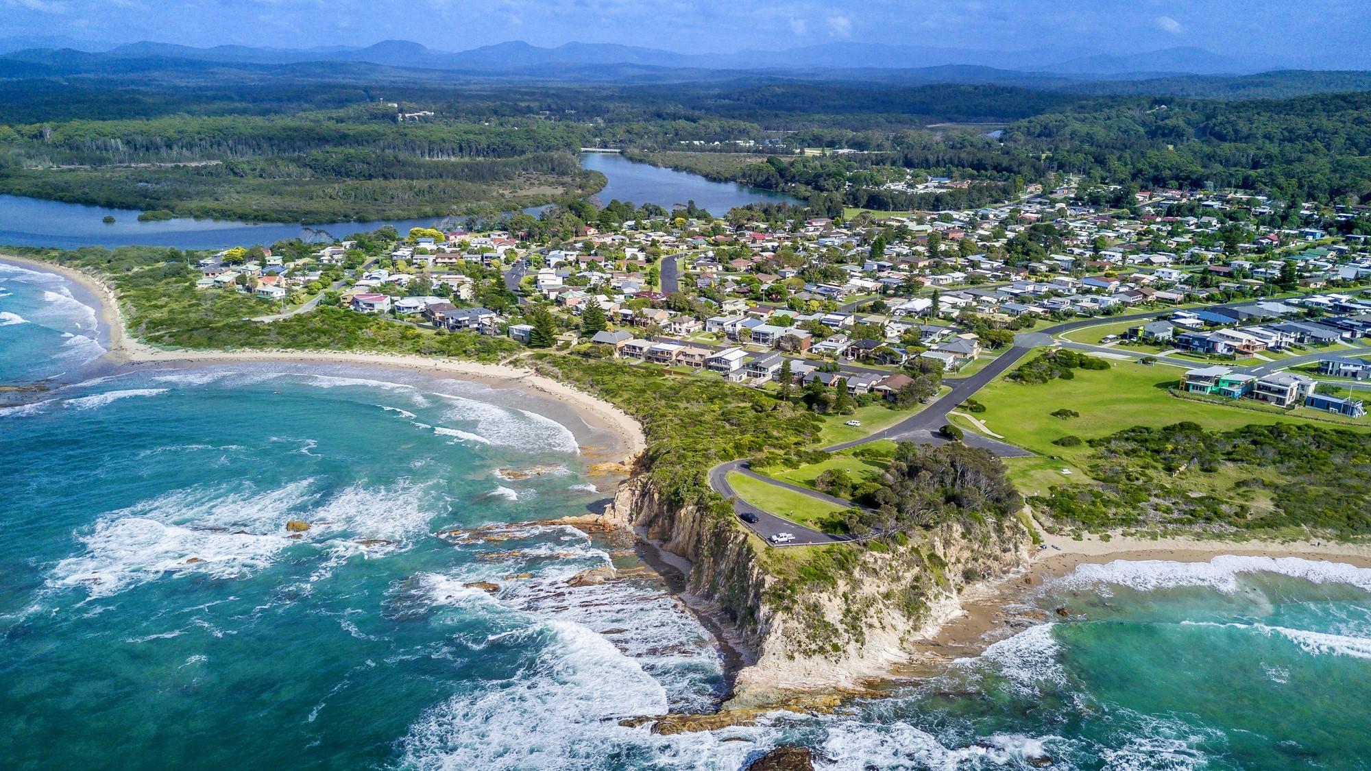 SUEZ header landing page NSW regional ads eurobodalla