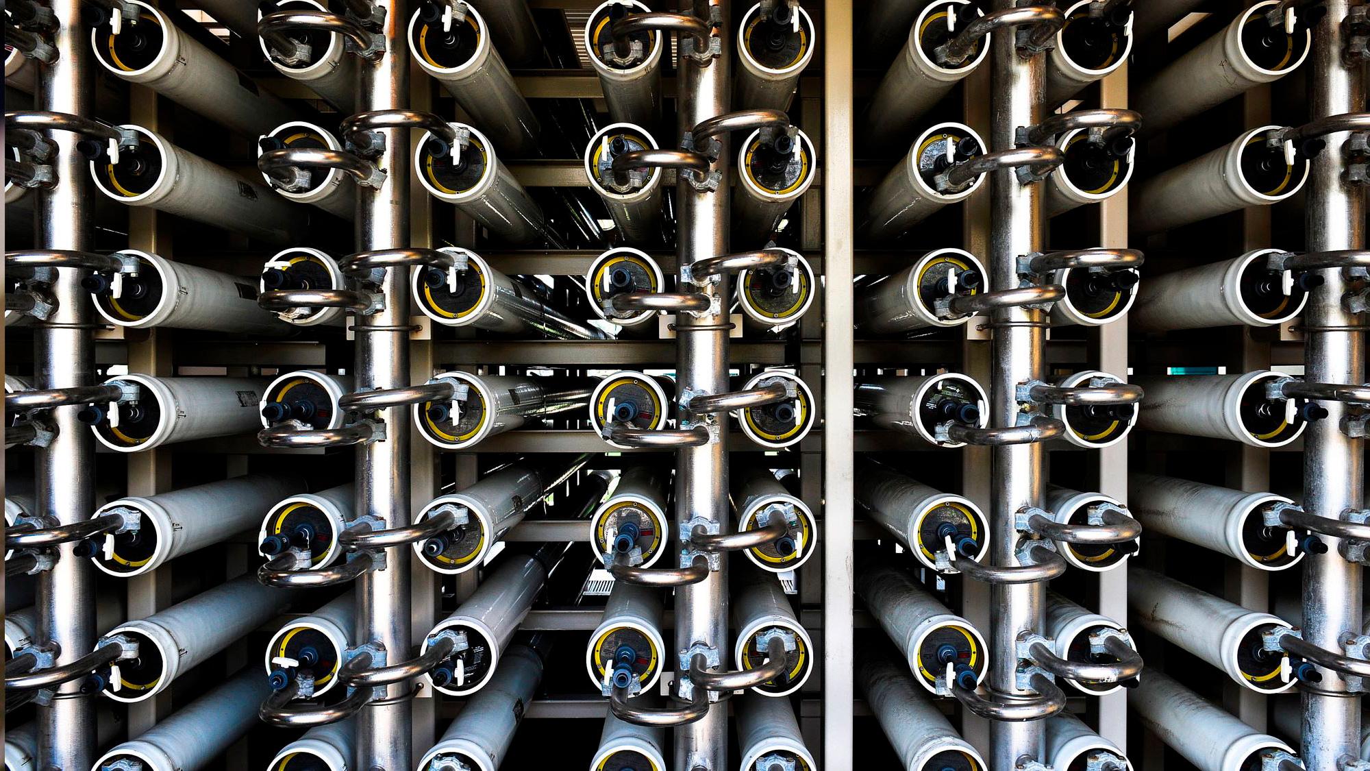 Image of SUEZ desalination plant