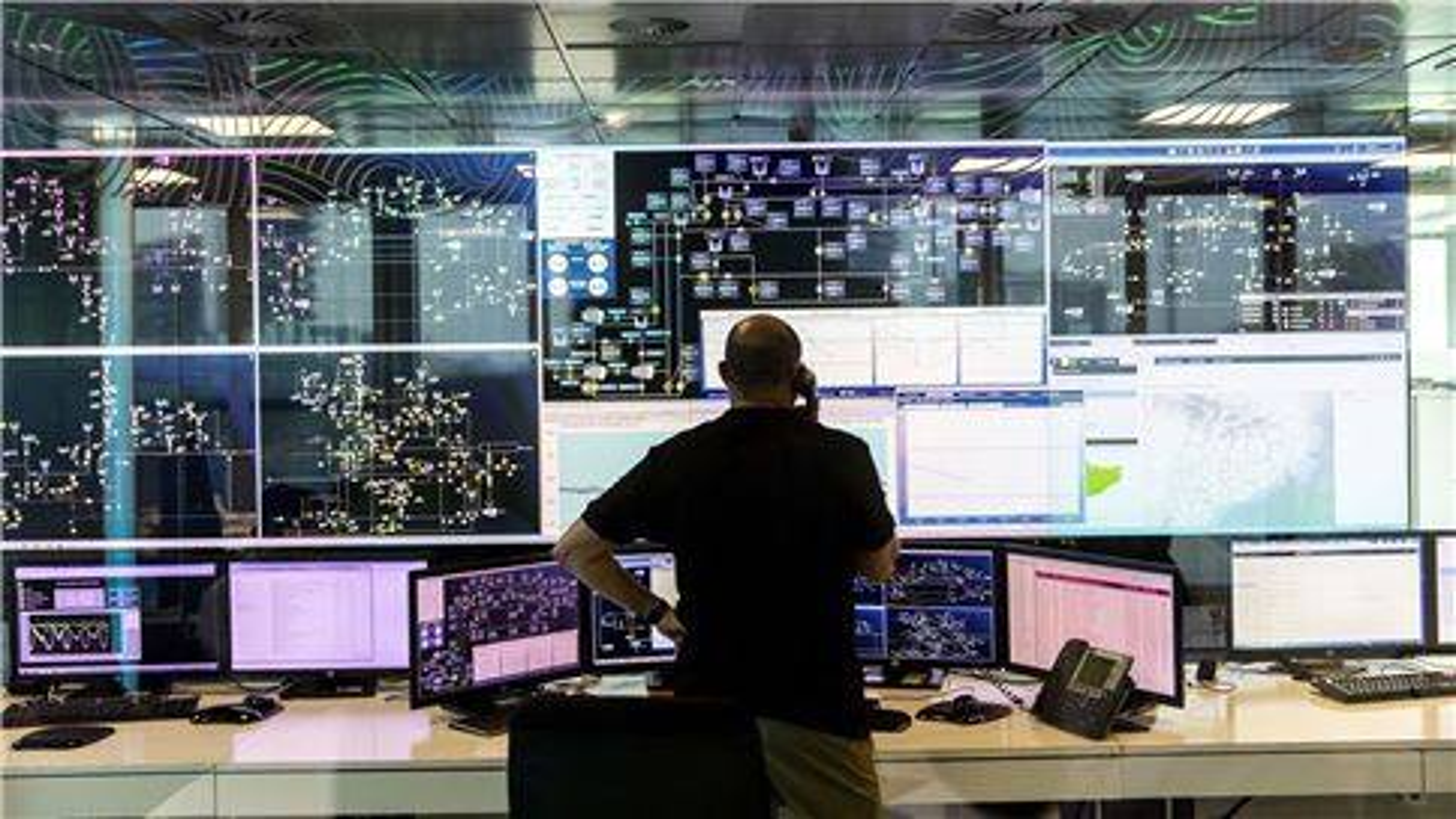 SUEZ operational control center