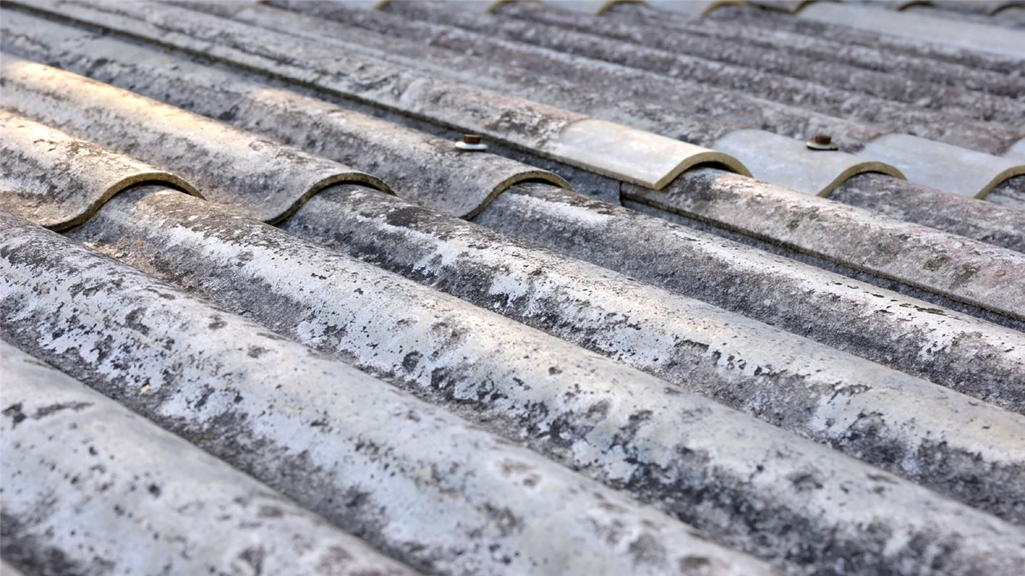 Recycling tips asbestos