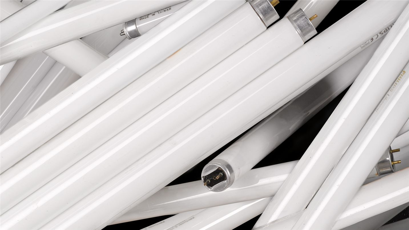 Recycling tips fluorescent lighting