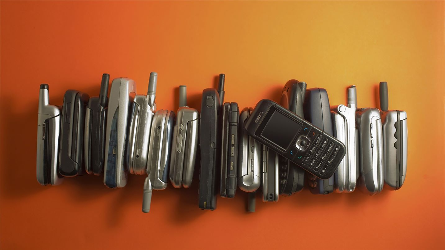 Recycling tips mobile phones