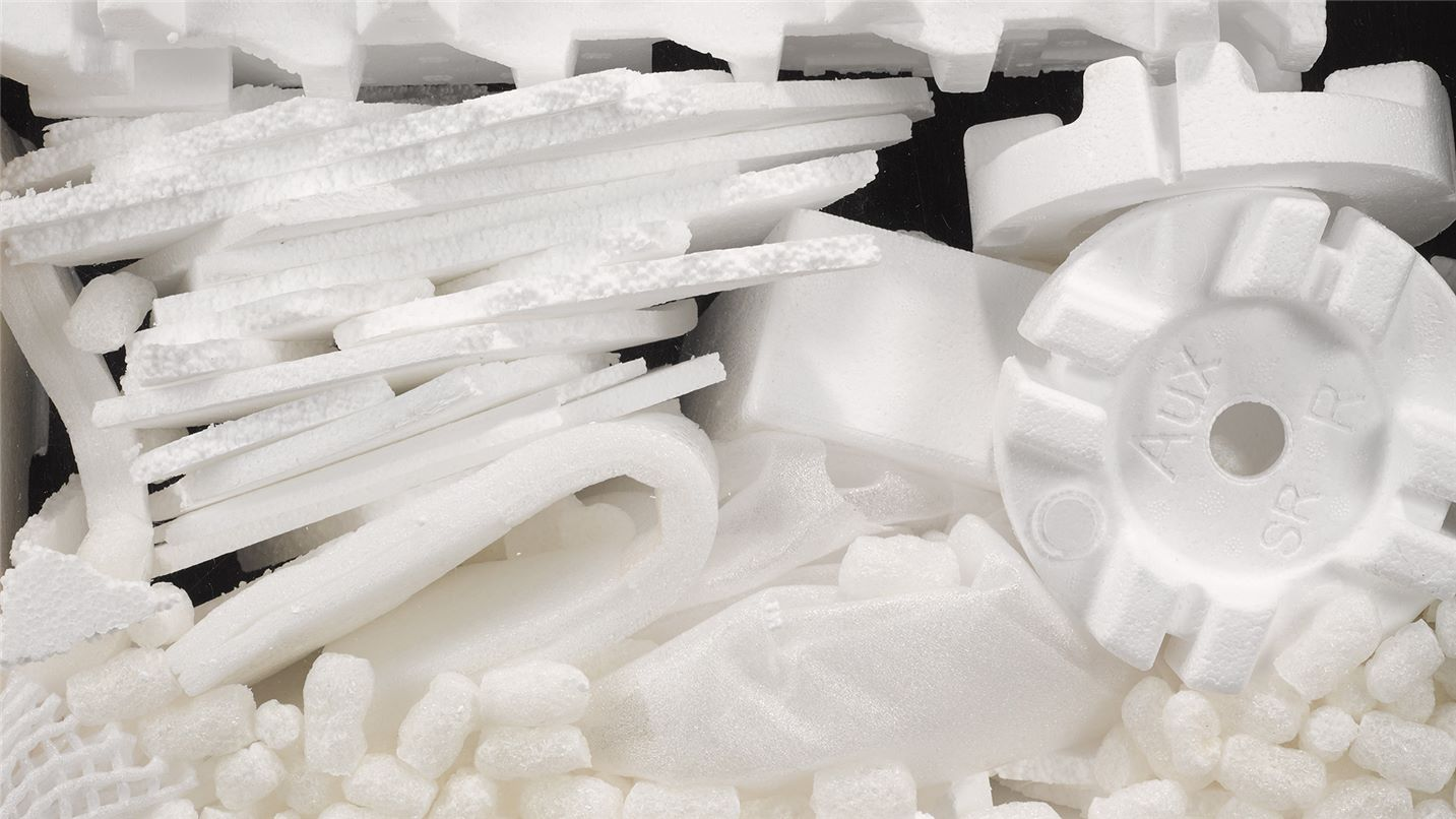 Recycling tips polystyrene