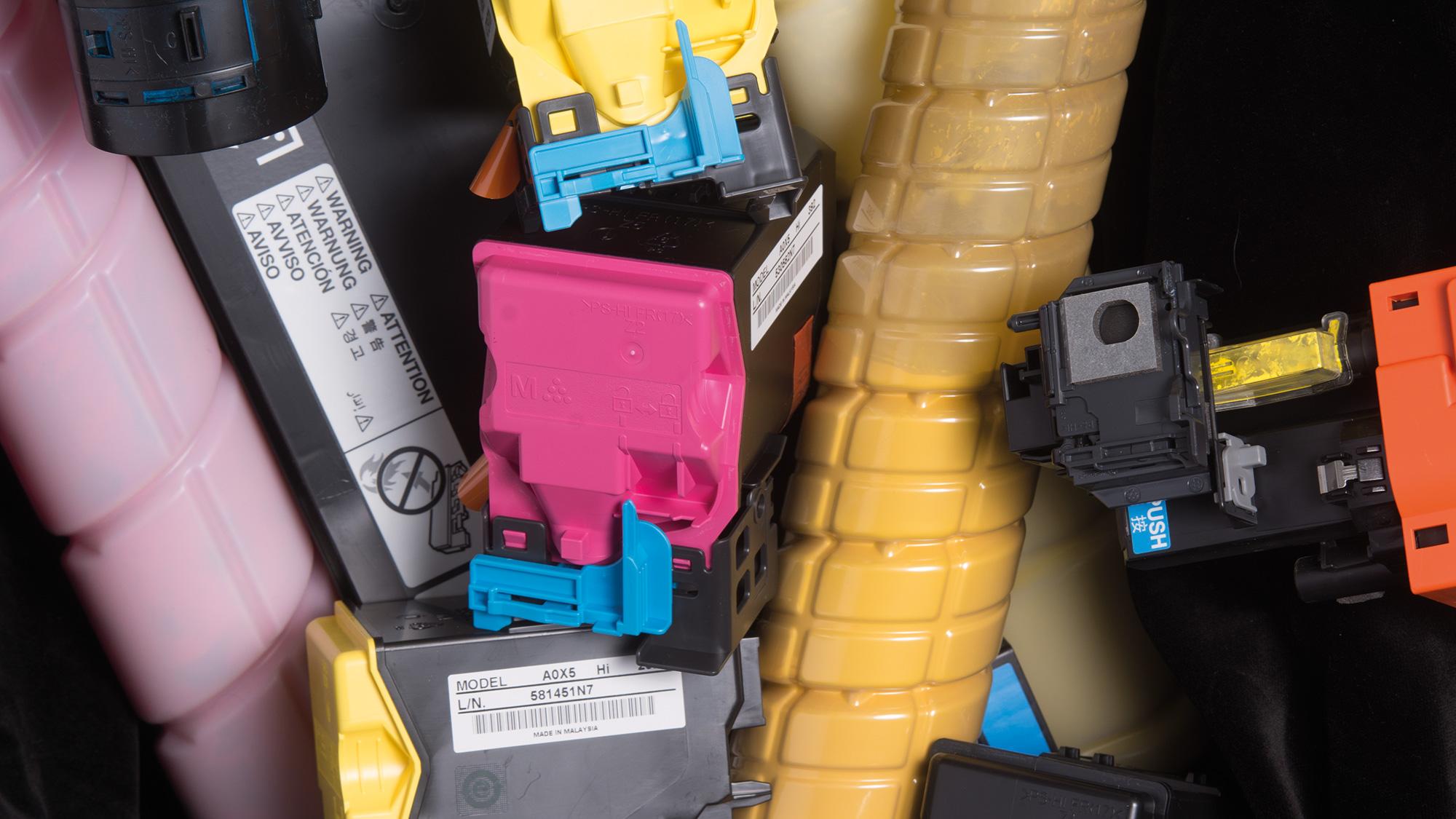 Recycling tips printer cartridges