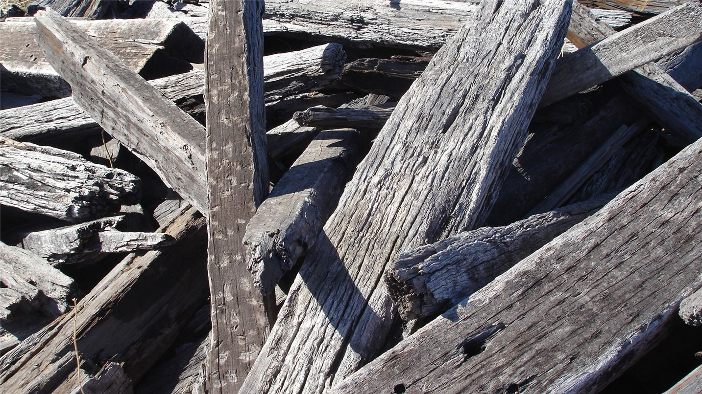 Recycling tips untreated timber