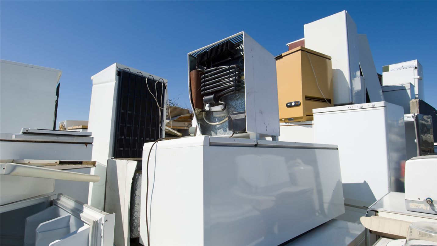 Recycling tips white goods