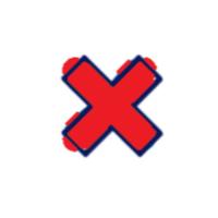 x symbol