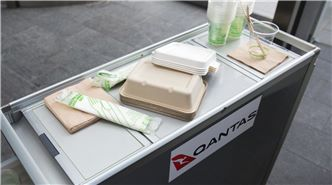Qantas packaging