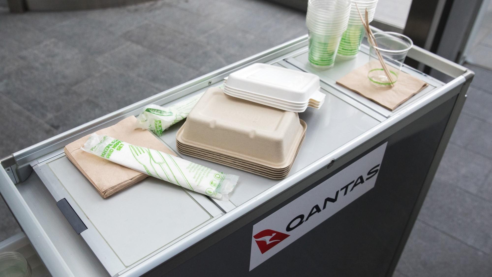Qantas packaging