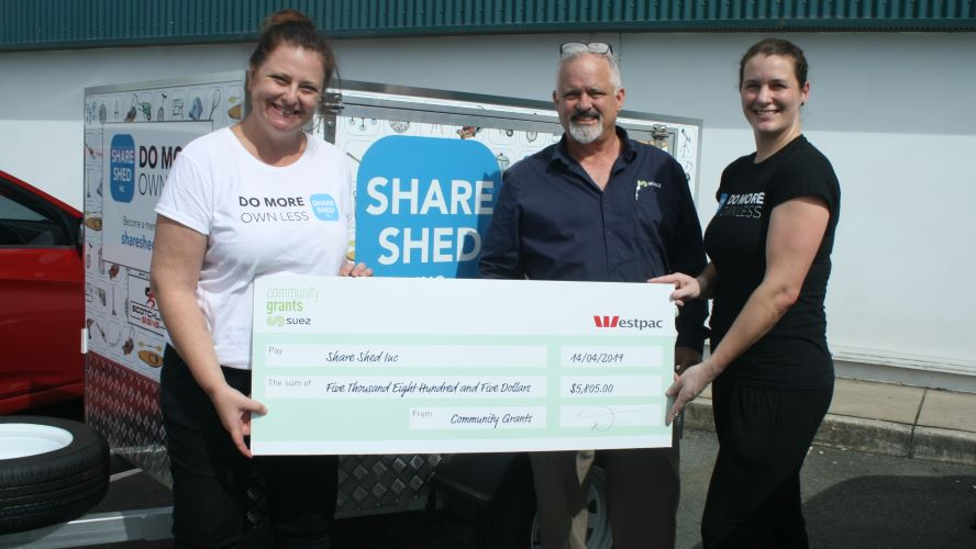 SUEZ SCG18 Shareshedcheque