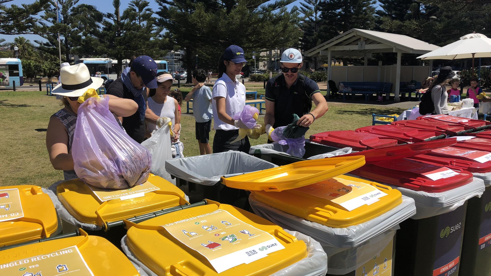 SUEZ_ANZ News Coogee beach clean up