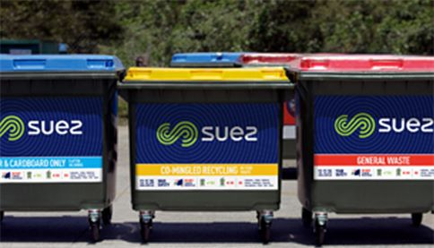 SUEZ bins and containers