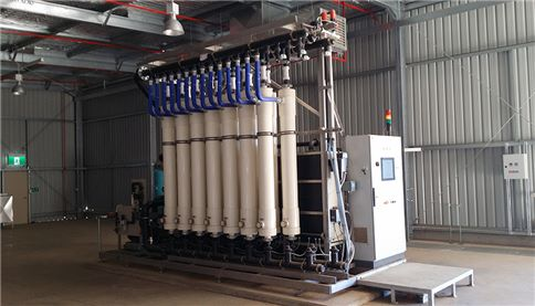 SmartRack ultrafiltration unit