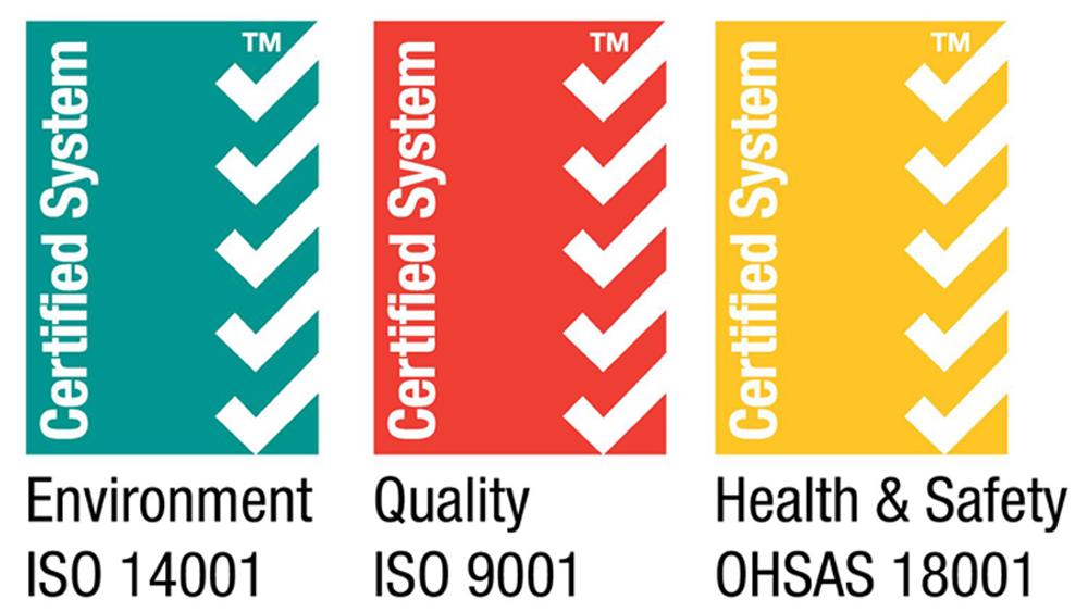 total waste certification logos