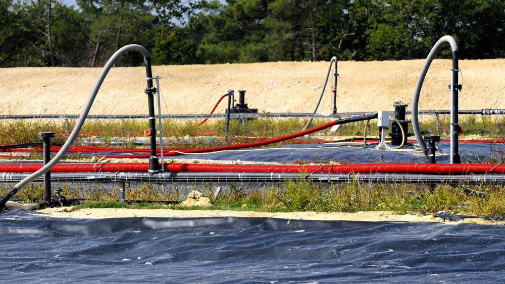 SUEZ bioreactor in operation
