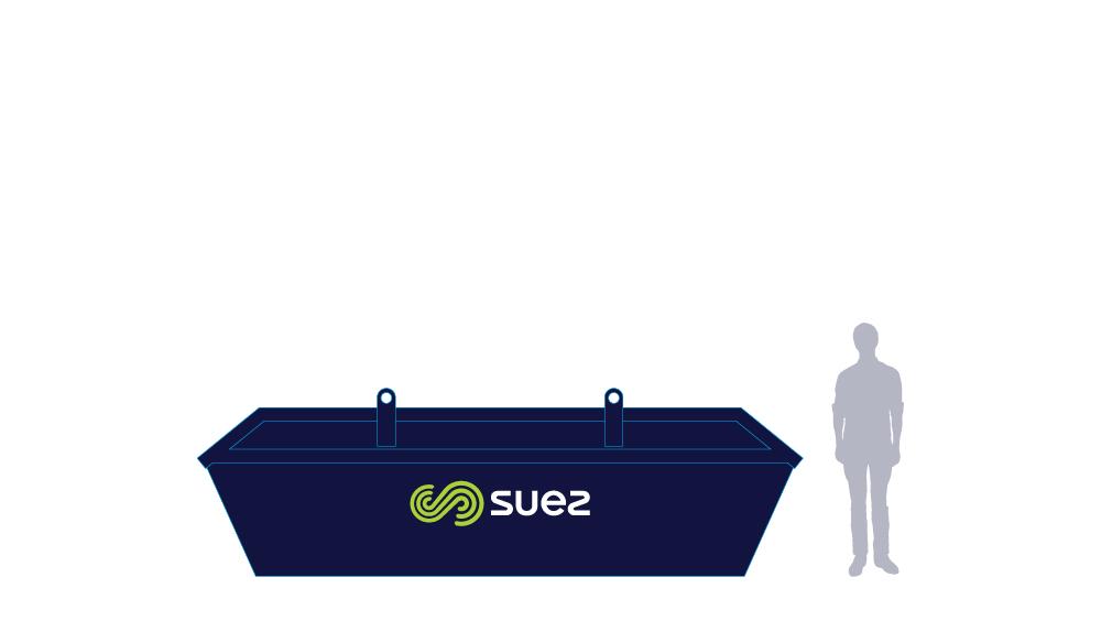 7 cubic metre skip bin