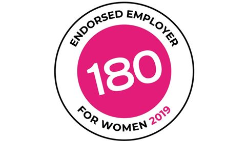 Work 180 Endorsed Employer for women 2019