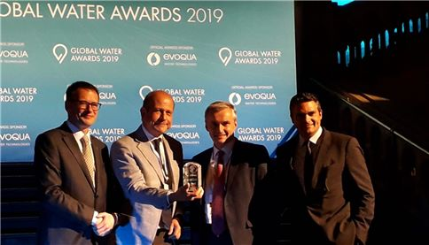 SUEZ elected Water Company of the Year 2018