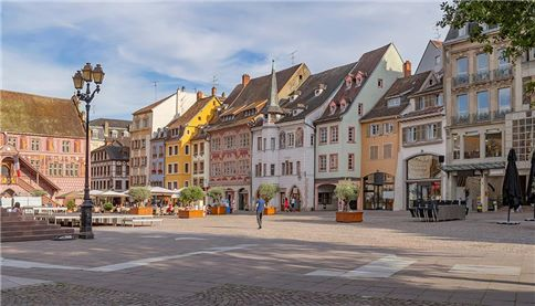 Street view of Mulhouse