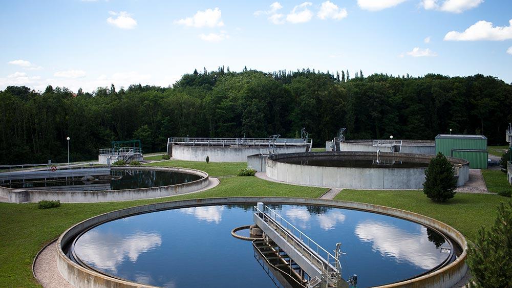 Treatment basin