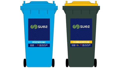 illustration of SUEZ MGB Bins