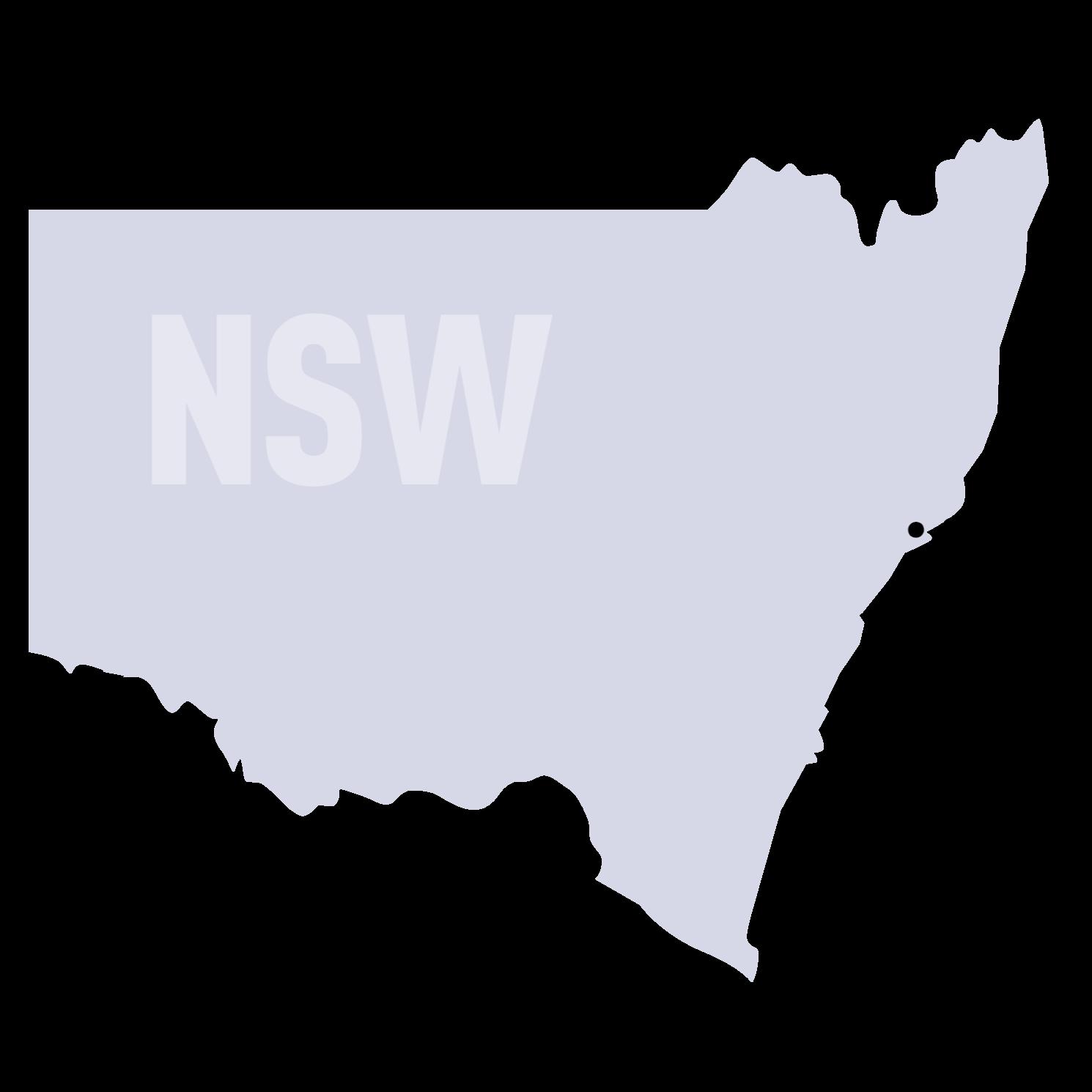 SUEZ States Maps NSW