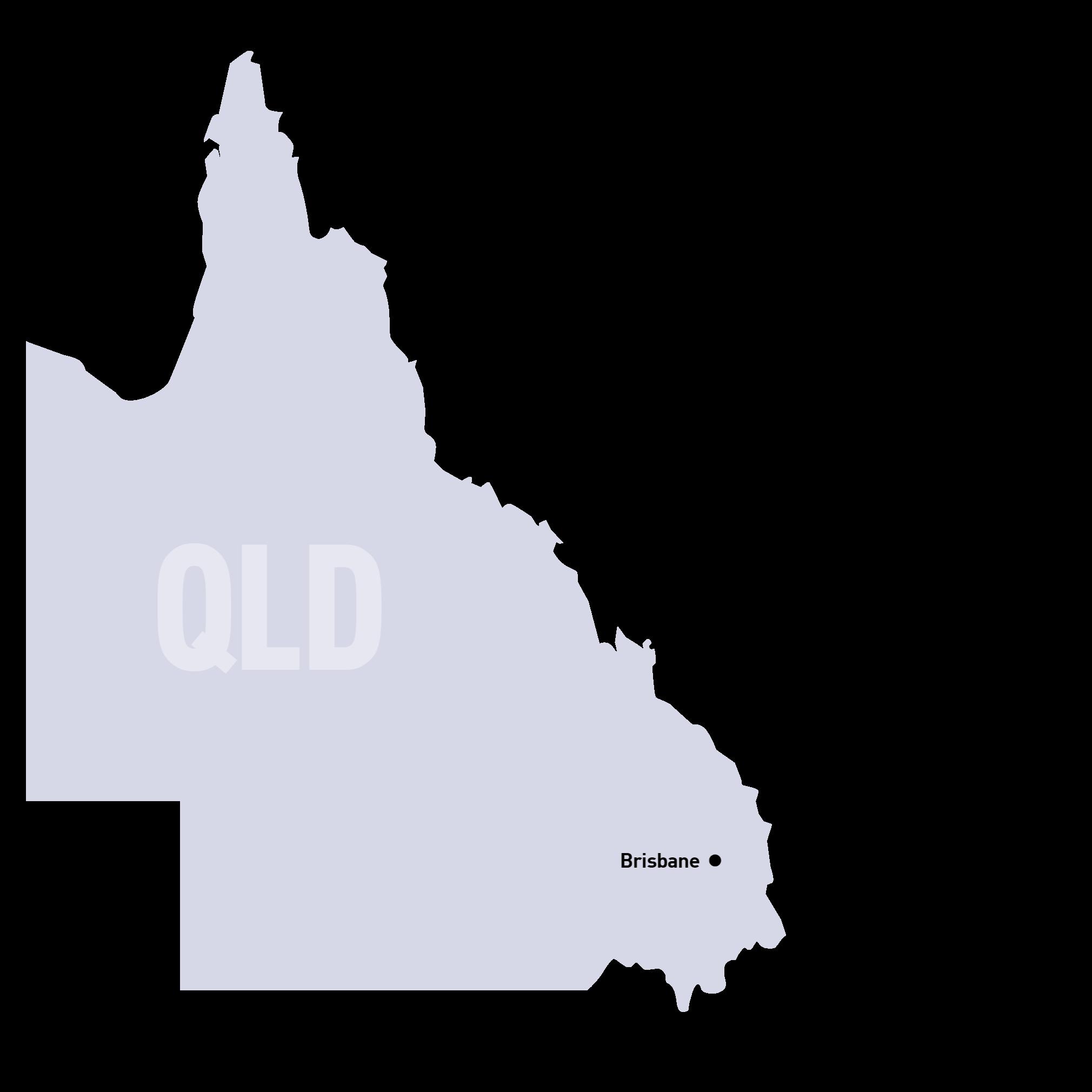 SUEZ States Maps QLD
