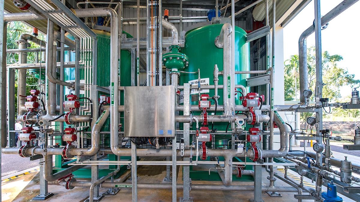 SUEZ adelaide river filtration