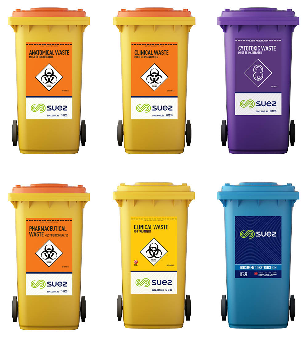 Medical and clinical bins - SUEZ in Australia and New Zealand