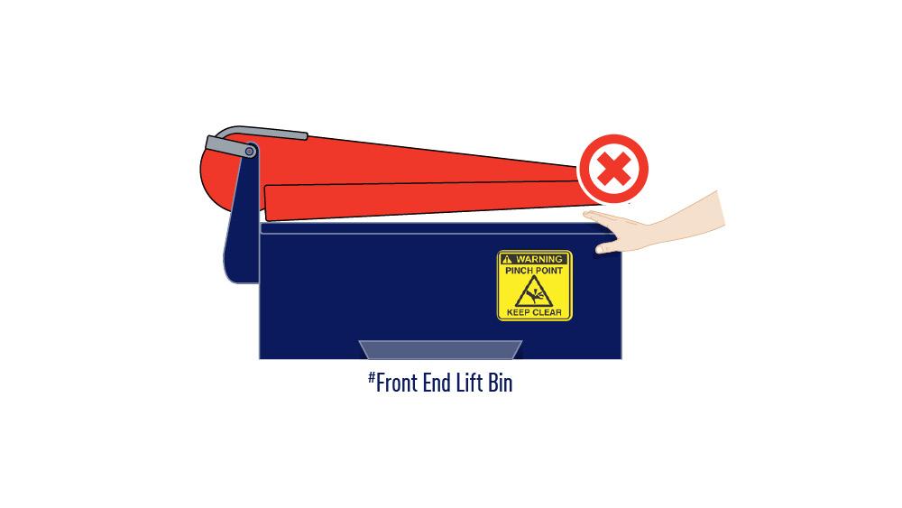 REL and FEL bin safety illustration