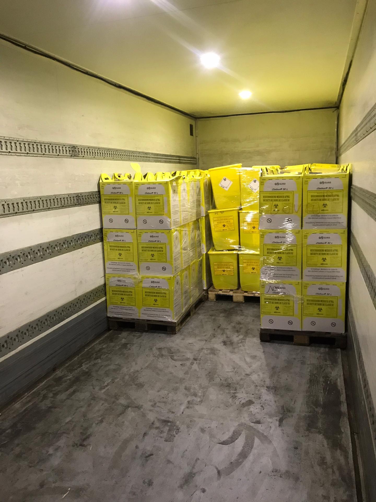 2020 04 03_ITW Nick Van Dooren_Medisch afval (5)