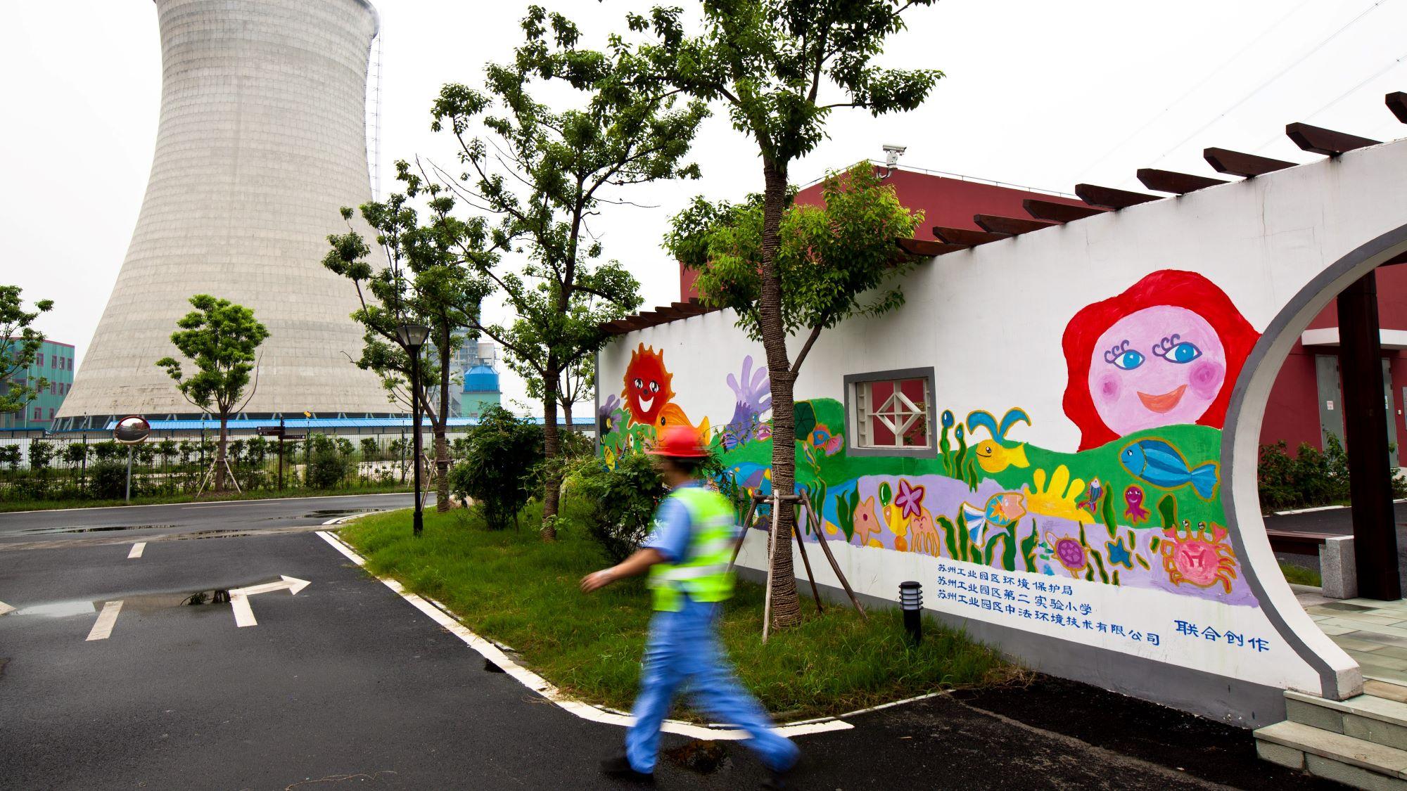 Fighting climate change Suzhou Sludge