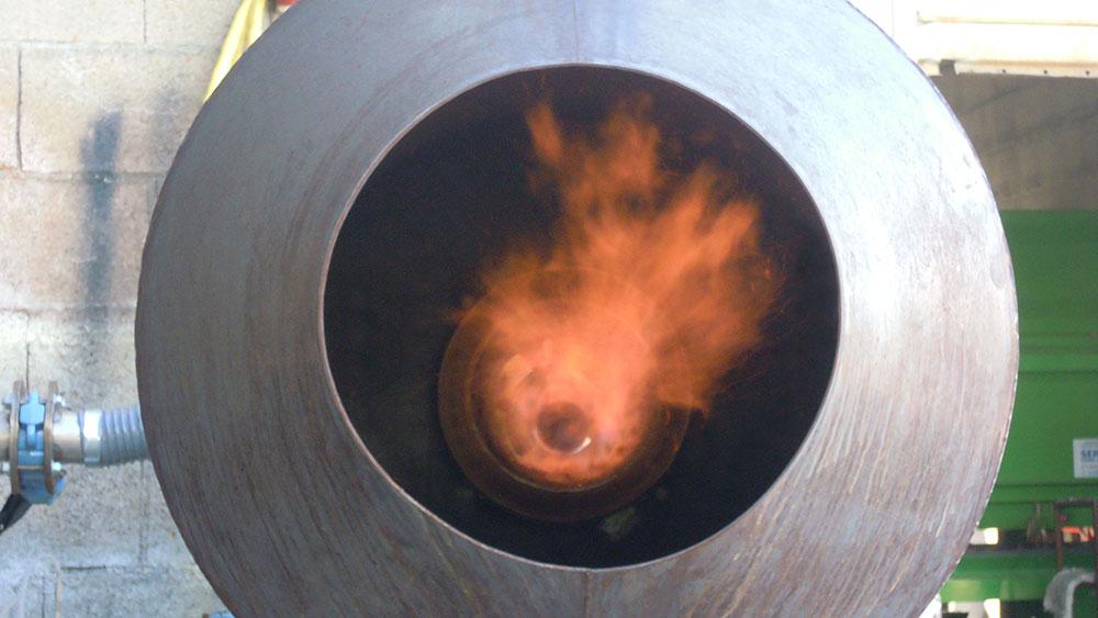 Cogebios syngas burner GASFLEX