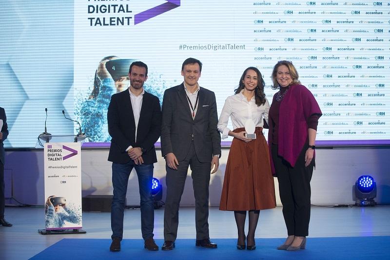 SUEZ noticia premio digital talent synectic header